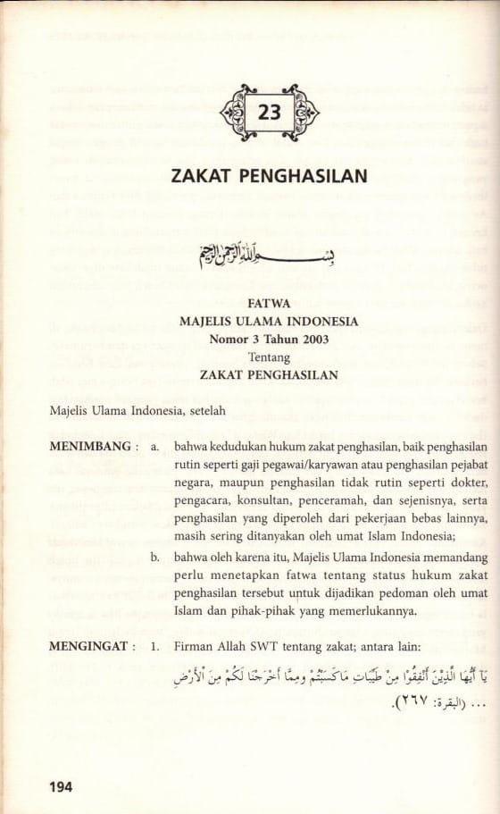 ZAKAT PROFESI (PENGHASILAN) Sejarah, Dalil, Hikmahnya 12