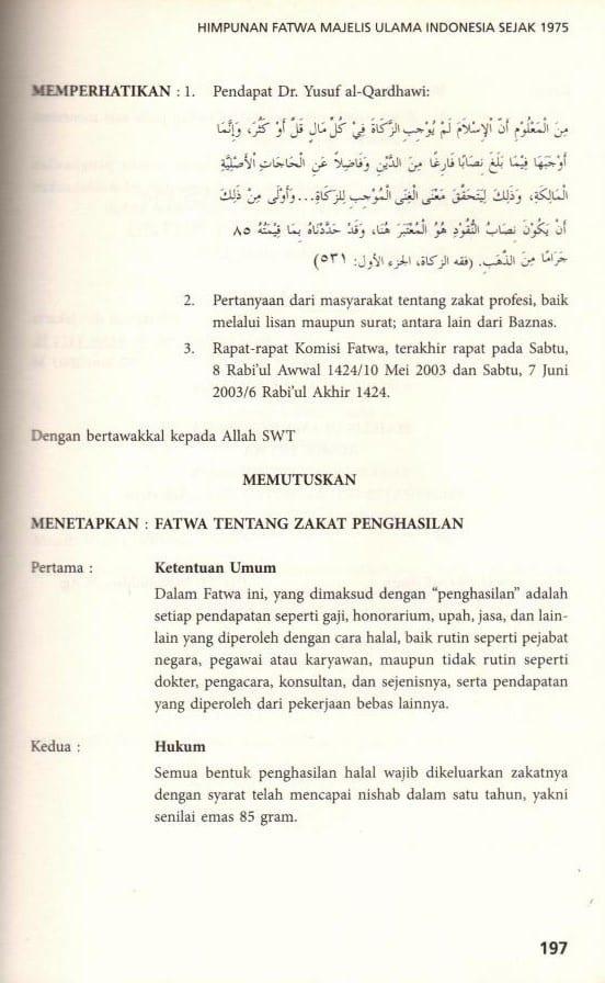 ZAKAT PROFESI (PENGHASILAN) Sejarah, Dalil, Hikmahnya 15