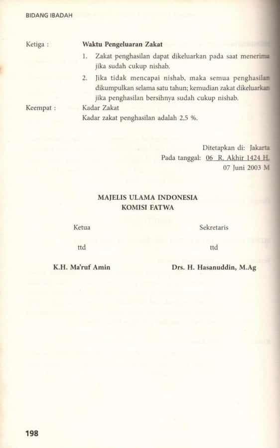 ZAKAT PROFESI (PENGHASILAN) Sejarah, Dalil, Hikmahnya 16