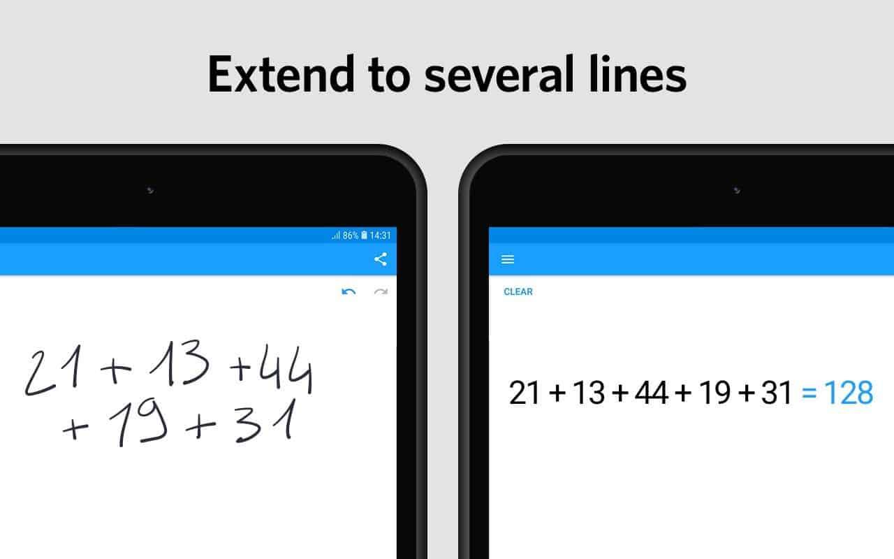 Aplikasi MyScript Calculator