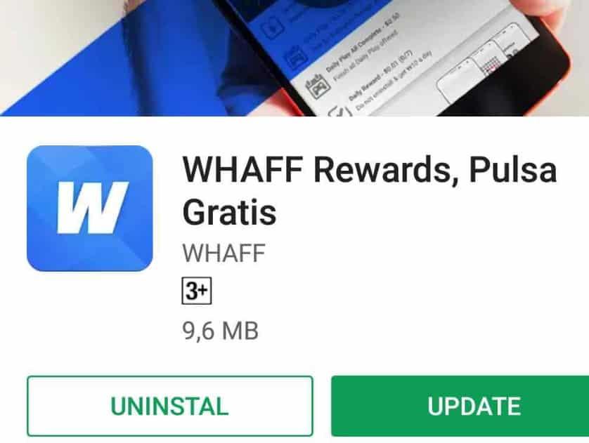 Aplikasi Penghasil Uang Whaff Reward