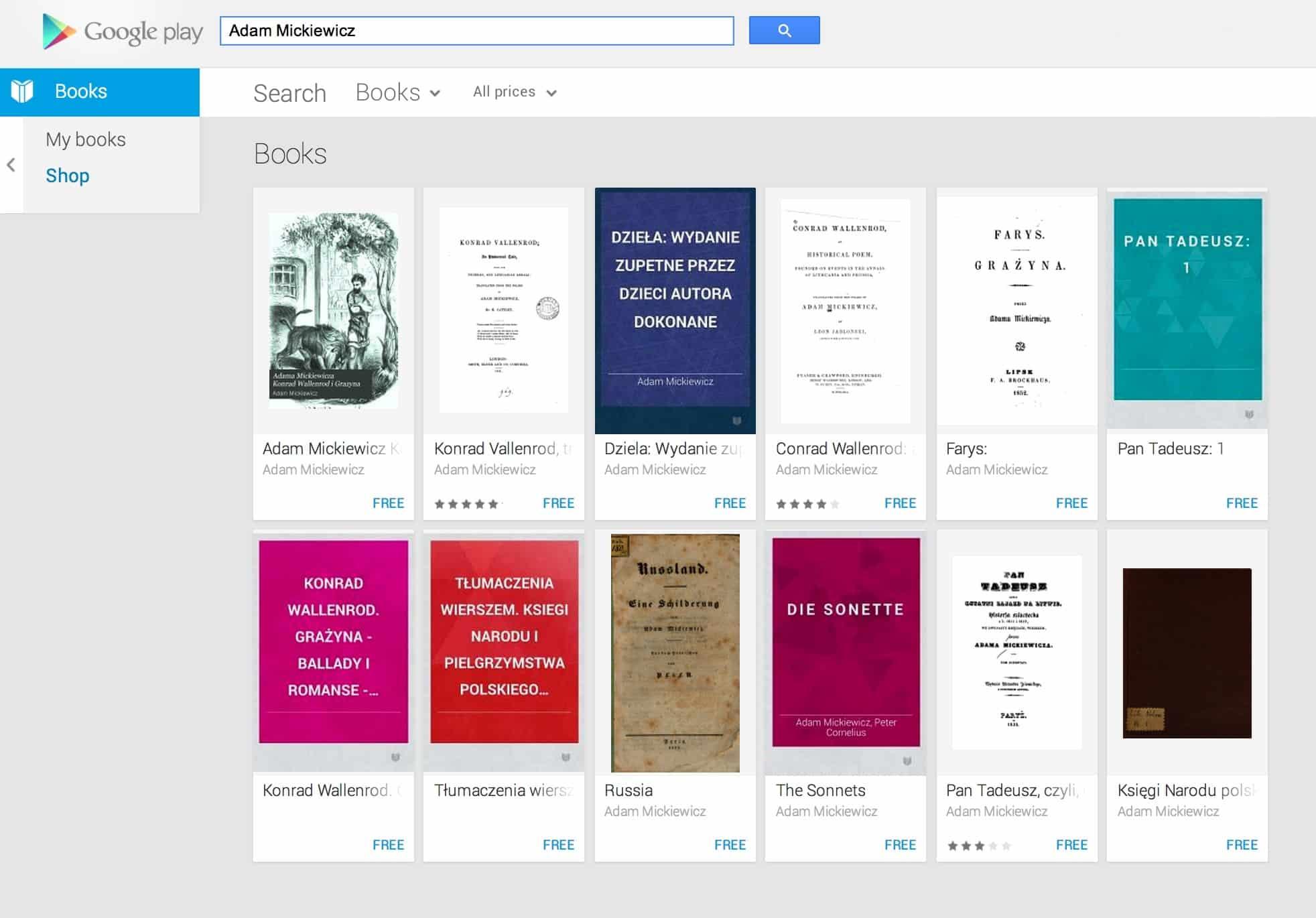 Google Play Book