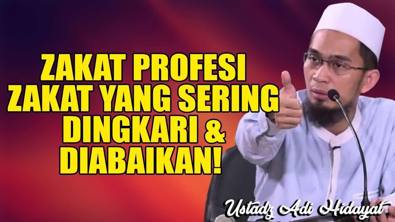 Hikmah mengeluarkan zakat profesi sebagai berikut:
