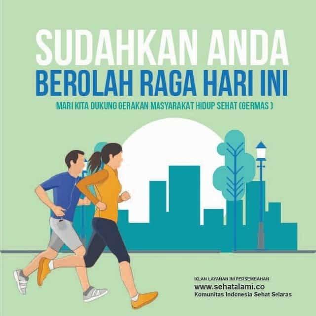 Iklan Layanan Masyarakat Tentang Pentingnya Berolah Raga