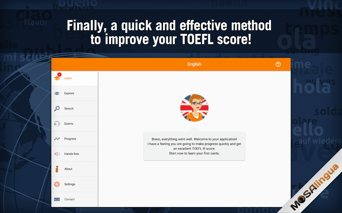 MosaLingua – TOEFL Test Prep