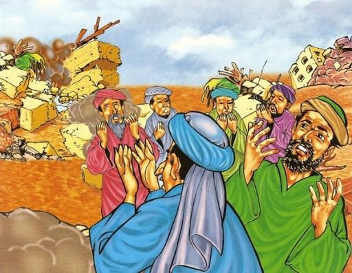 Kisah Nabi Nuh AS : Biografi, Silsilah, Kisah kisah Penting 16