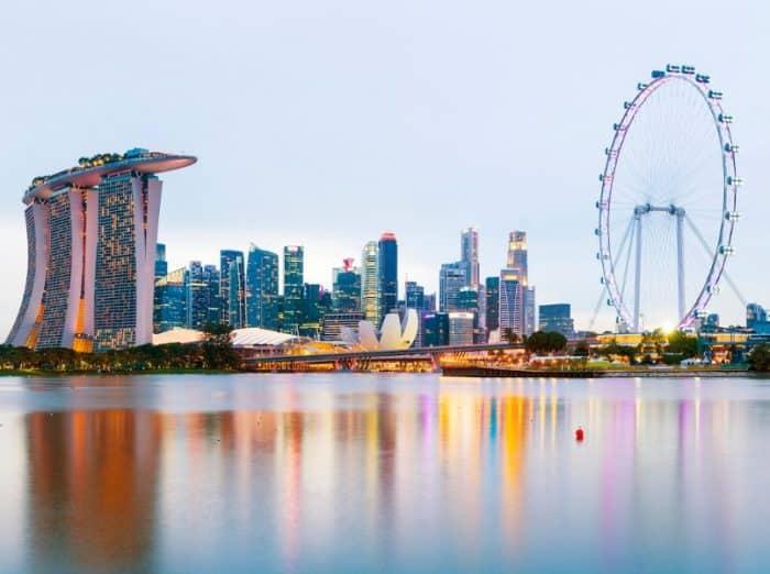 Kota Penting di Singapura