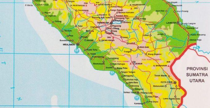 Peta Aceh, Geografis serta Sumber Daya alam (Paling Lengkap) 1