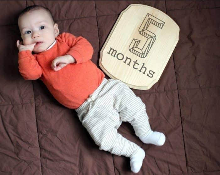 Bayi Usia 5 Bulan