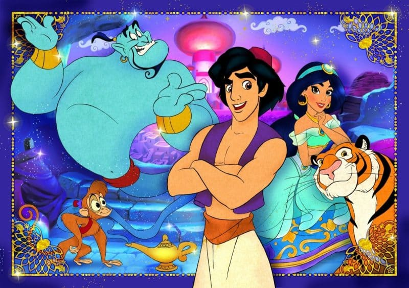 Contoh Cerita Fantasi Aladin