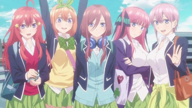 Anime Go-Toubun no Hanayome