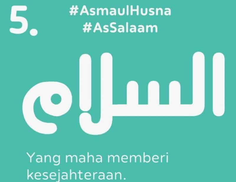 As Salaam Yang Maha Memberi Kesejahteraan