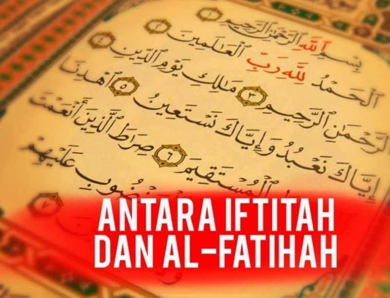 Bacaan Doa Iftitah 3