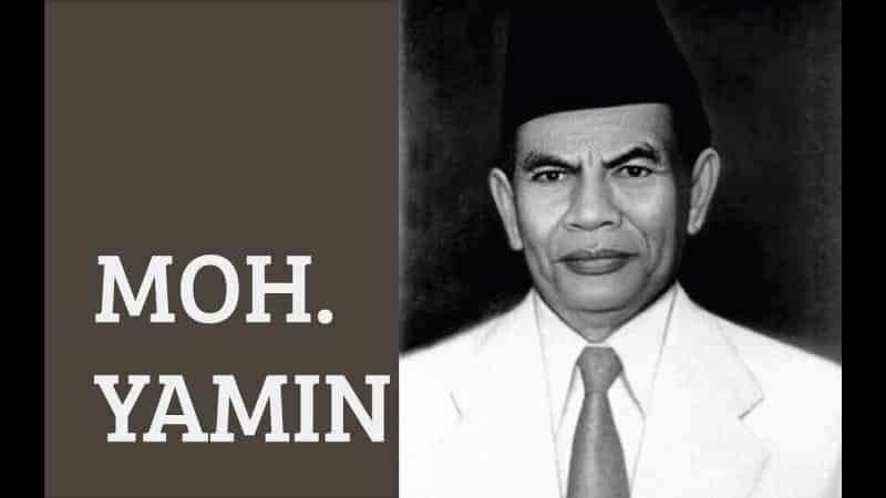 Biografi Pahlawan Mohammad Yamin