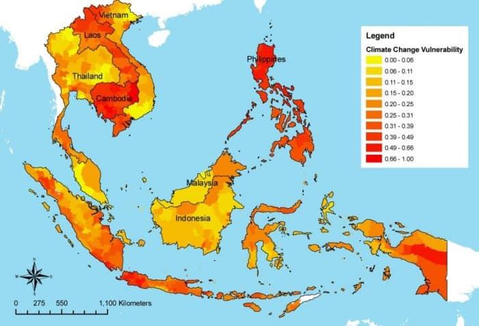 Kondisi Iklim Benua Asia
