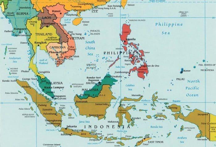 Batas Geografis Benua Asia