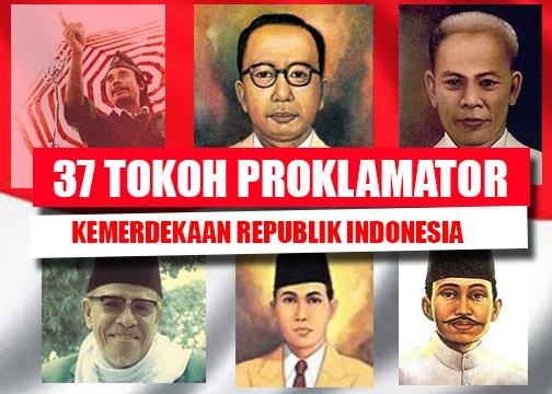 37 Tokoh Proklamator kemerdekaan Indonesia (Paling Lengkap)