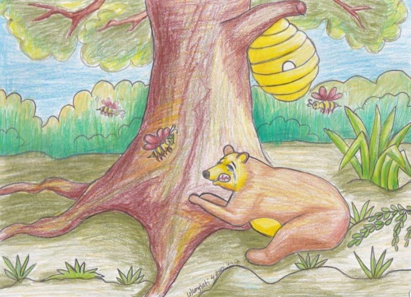 Contoh Teks Fabel Semut Dan Lebah