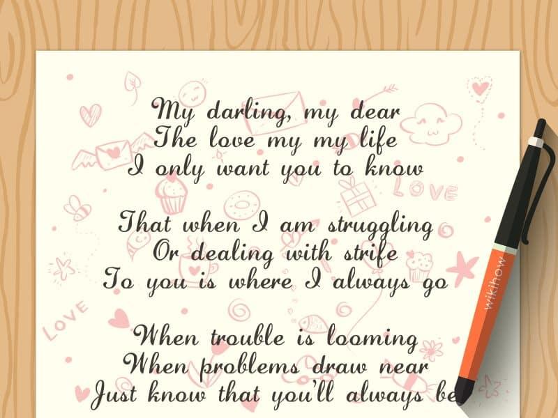 Contoh Teks Narasi pada Puisi