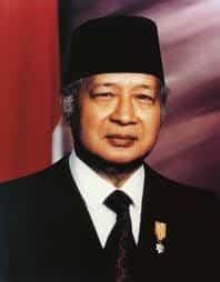 Presiden H.M. Soeharto