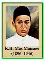 KIAI HAJI MAS MANSOER