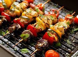 Kebab Kambing dan Paprika