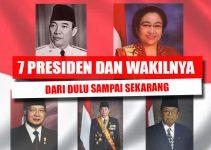 7 Presiden Dan Wakil Presiden Indonesia (Dari Dulu Sampai Sekarang) 3