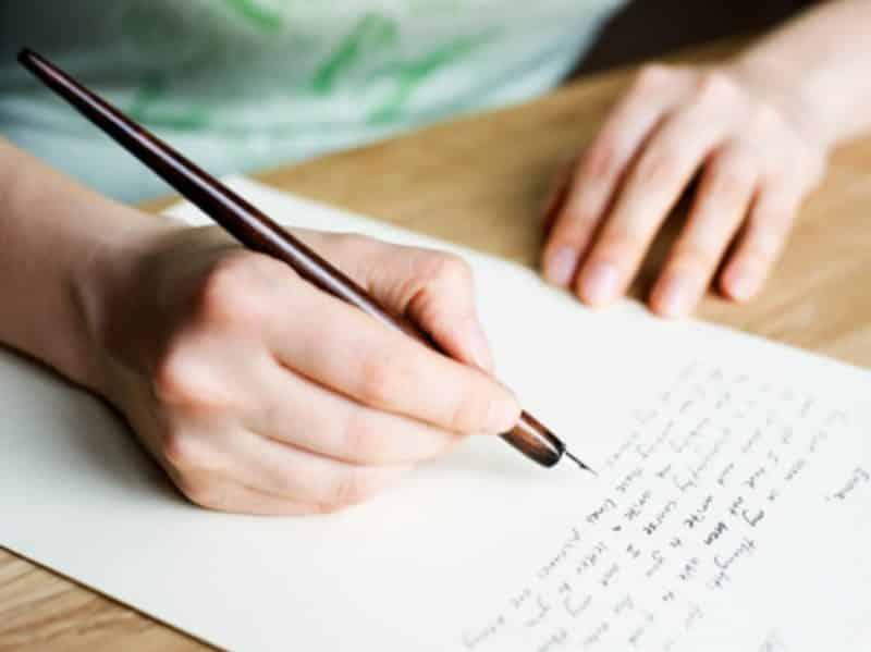 Contoh Surat Lamaran Kerja Indomaret Tulis Tangan