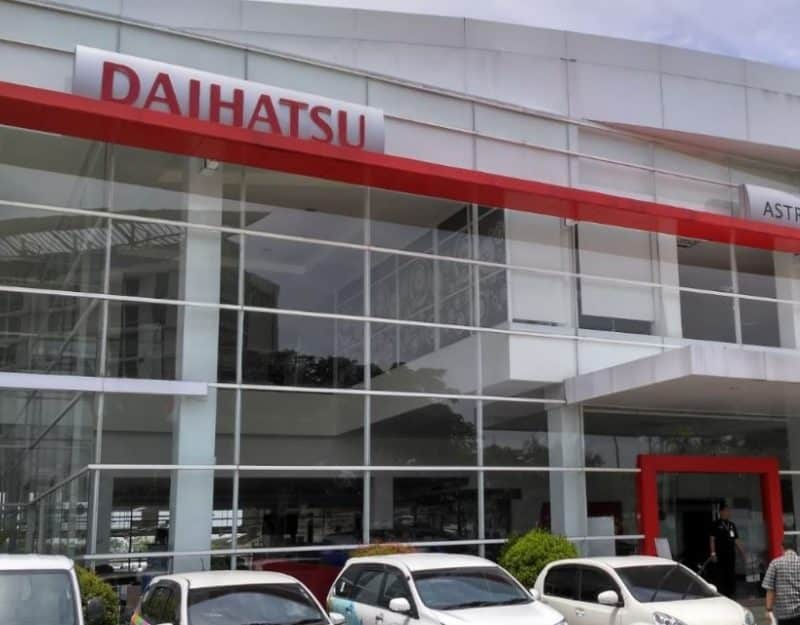 Contoh Surat Lamaran di pabrik PT Daihatsu