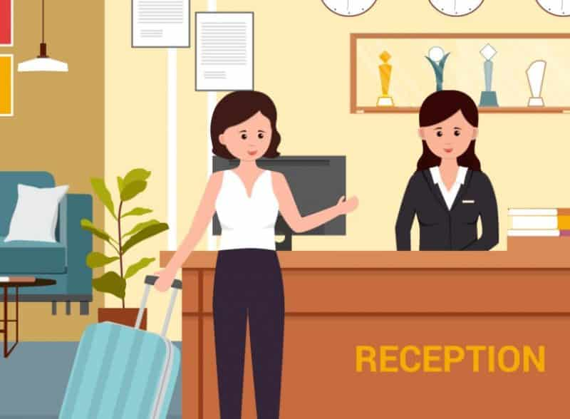 Contoh surat lamaran kerja hotel bagian receptionist
