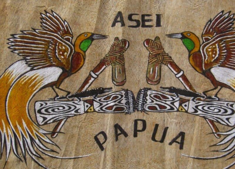 Lukisan etnis Papua