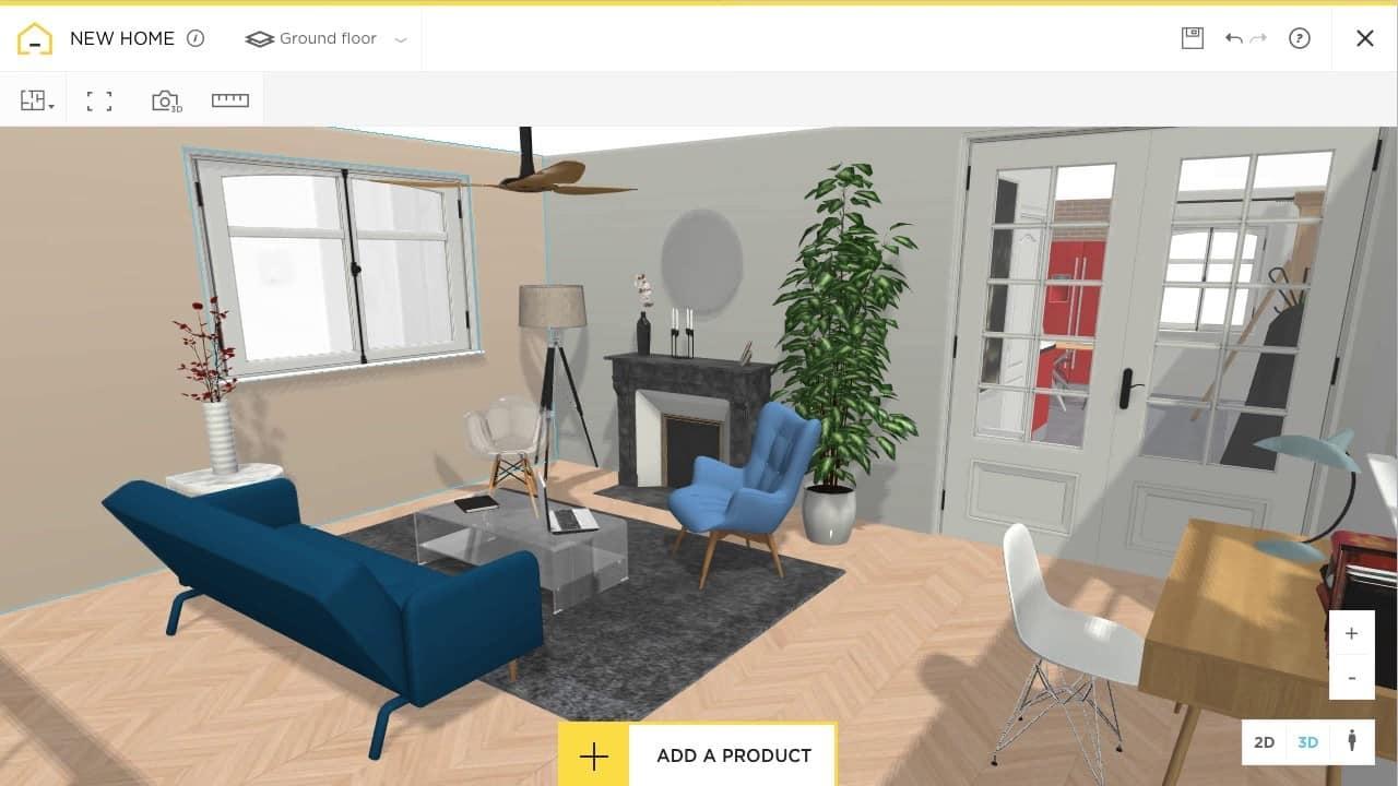 """3. Aplikasi Desain Rumah """"HomeByMe"""""""