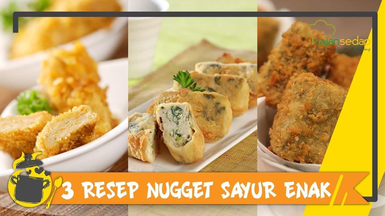 13 Cara Membuat Nugget : Ayam, Tahu, Ikan, Tempe Sayur dll 6