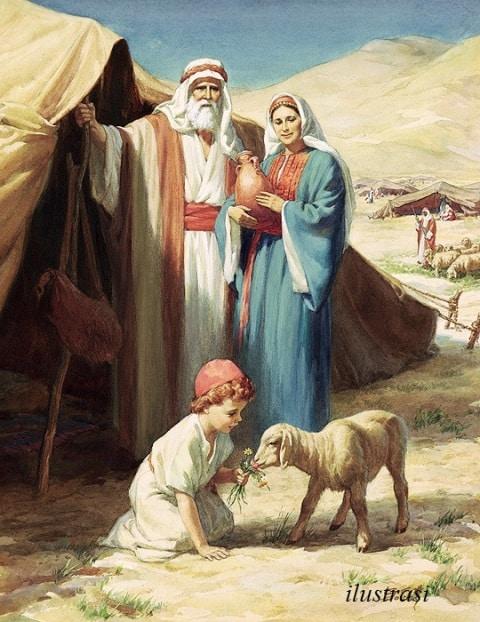 Kisah Nabi Ishaq : Kelahiran