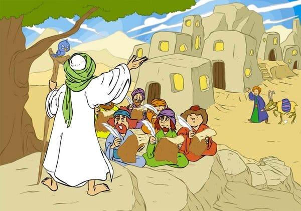 Kisah Nabi Ismail saat Berdakwah Kepada Kaumnya