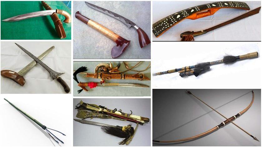 Senjata Tradisional dari Berbagai Wilayah Indonesia