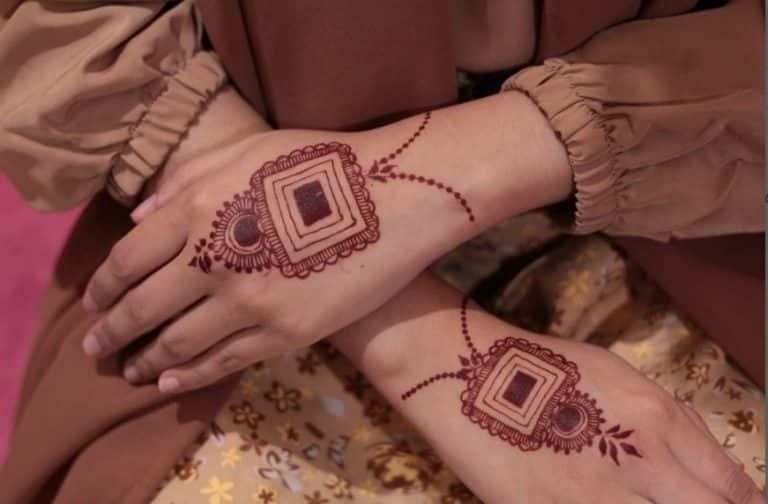 Cara Buat Motif Henna yang Bagus