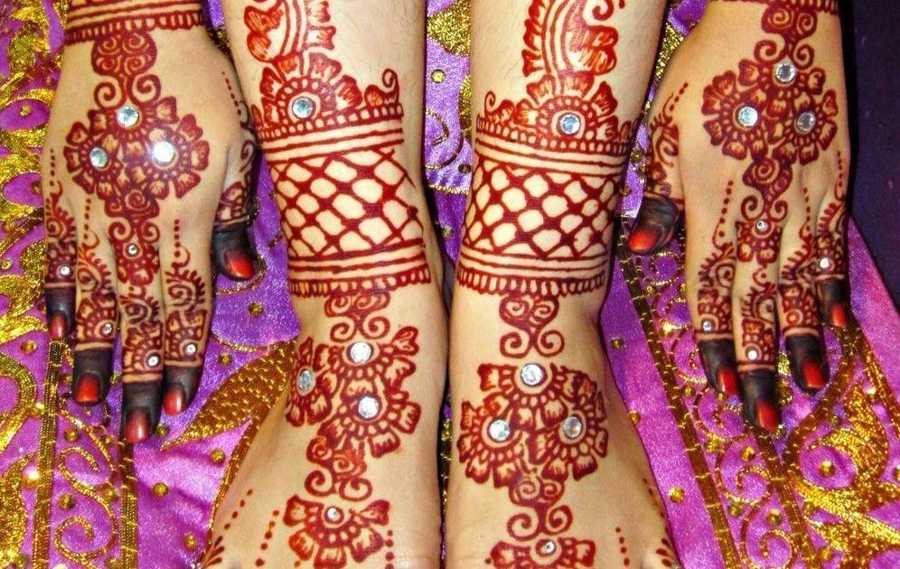 Motif Henna Khusus Acara Pernikahan