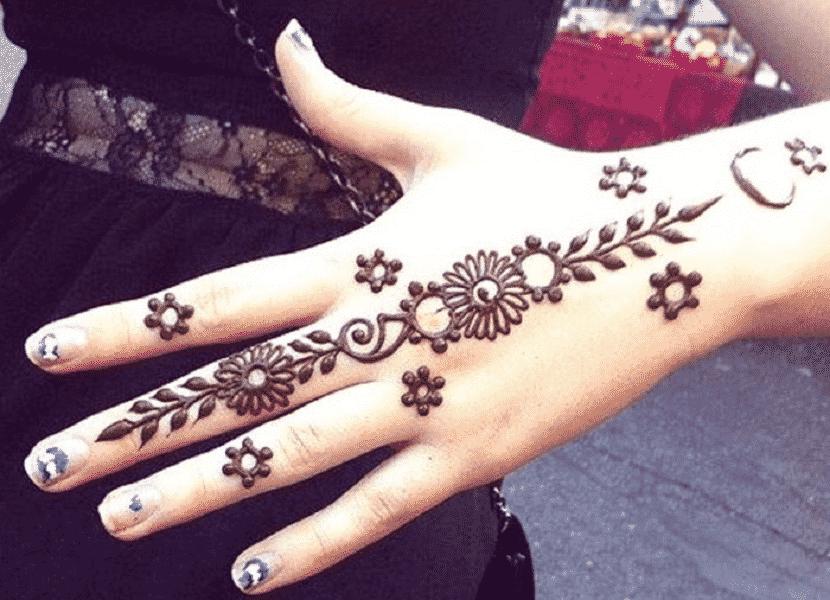 Motif Henna Khusus Anak