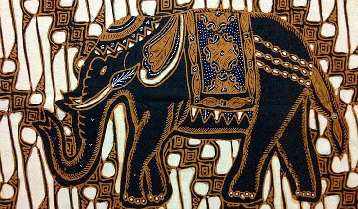 Motif Ragam Hias Gajah