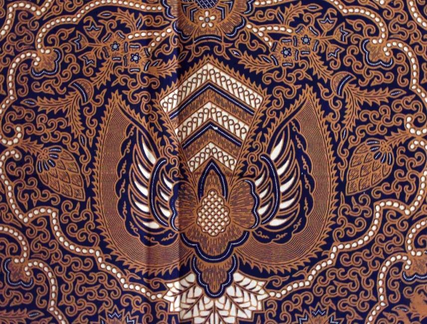 Motif Ragam Hias Garuda