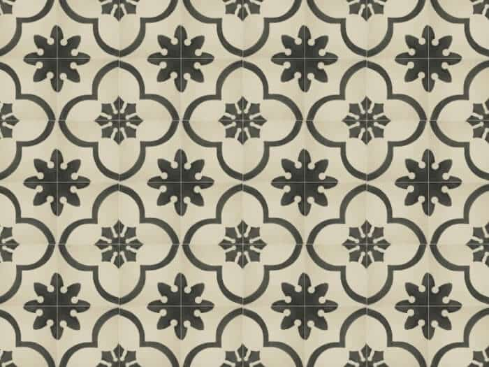 Ragam Motif Geometris Keramik