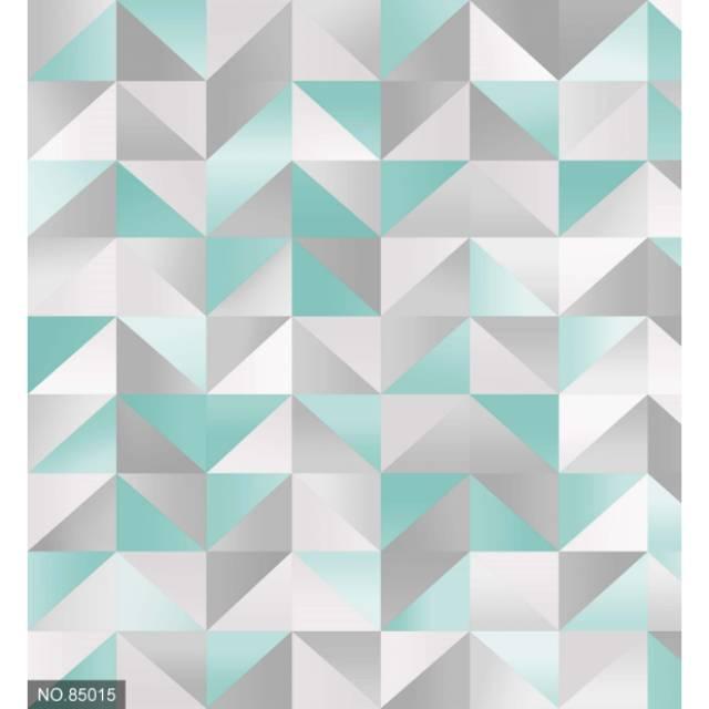 Ragam Motif Geometris Segitiga Kombinasi