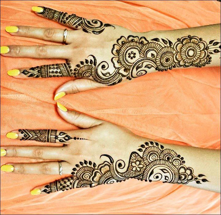 18+ Motif Henna Berbagai Variasi Yang Sangat Unik Buat Di Coba