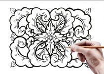 20+ Motif Geometris : Batik, Belah ketupat Dang Bayak Lagi (Super Lengkap) 1