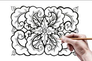 20+ Motif Geometris : Batik, Belah ketupat Dang Bayak Lagi (Super Lengkap) 11