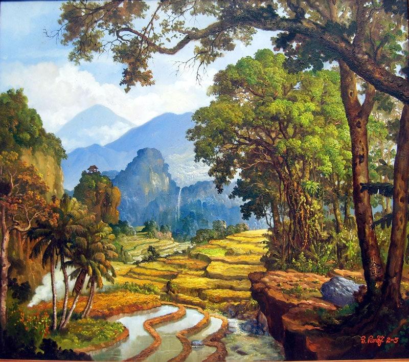 11. Aliran Seni Lukis Naturalisme