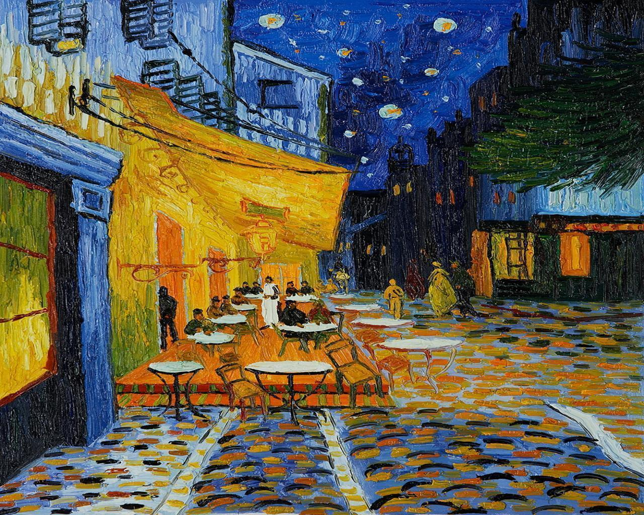 2. Cafe Terrace at Night