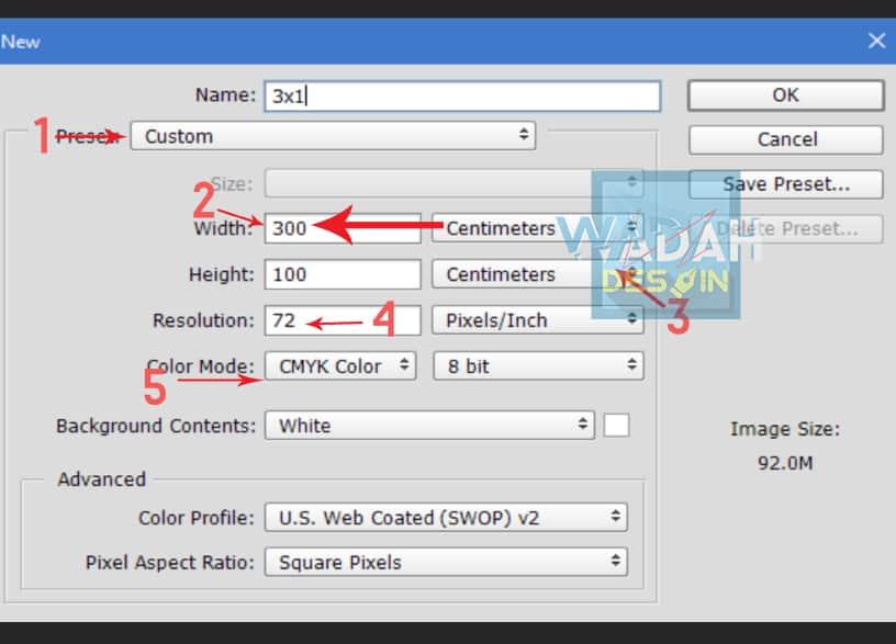 2. Cara Mengubah Ukuran Banner Menggunakan Software Photoshop