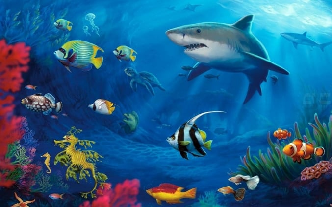2. Ekosistem Laut